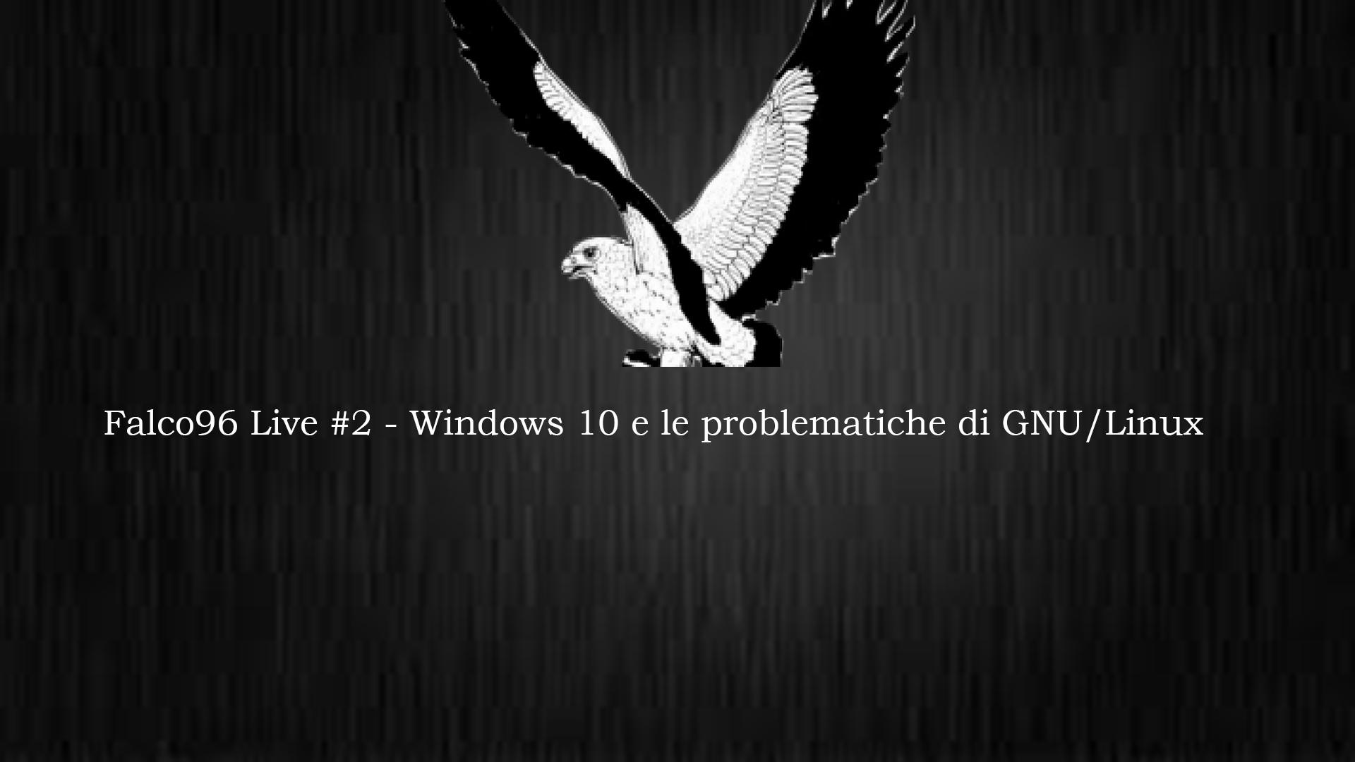 Windows 10 VS. GNU/Linux – Un confronto non alla pari