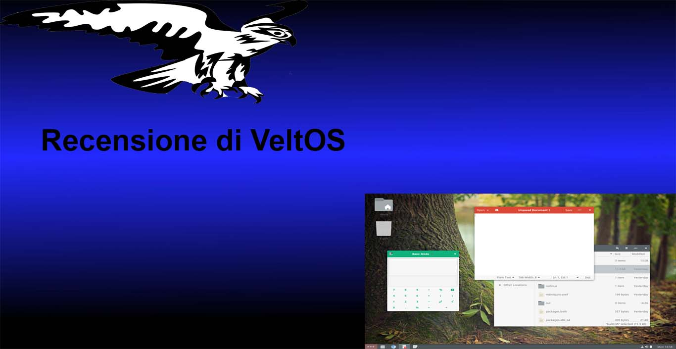 VeltOS – Un nuovo sistema operativo