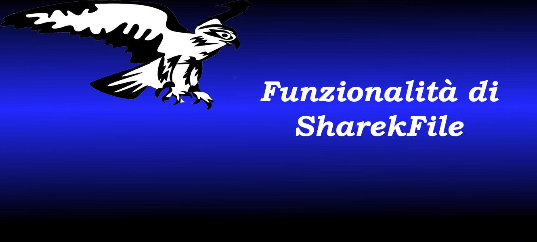 Funzionalità del progetto – SharekFile