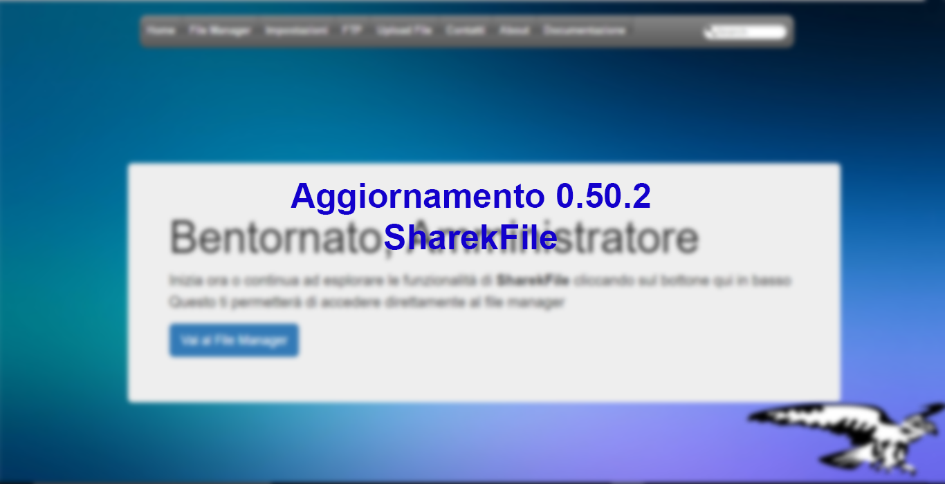 Aggiornamento SharekFile 0.50.2