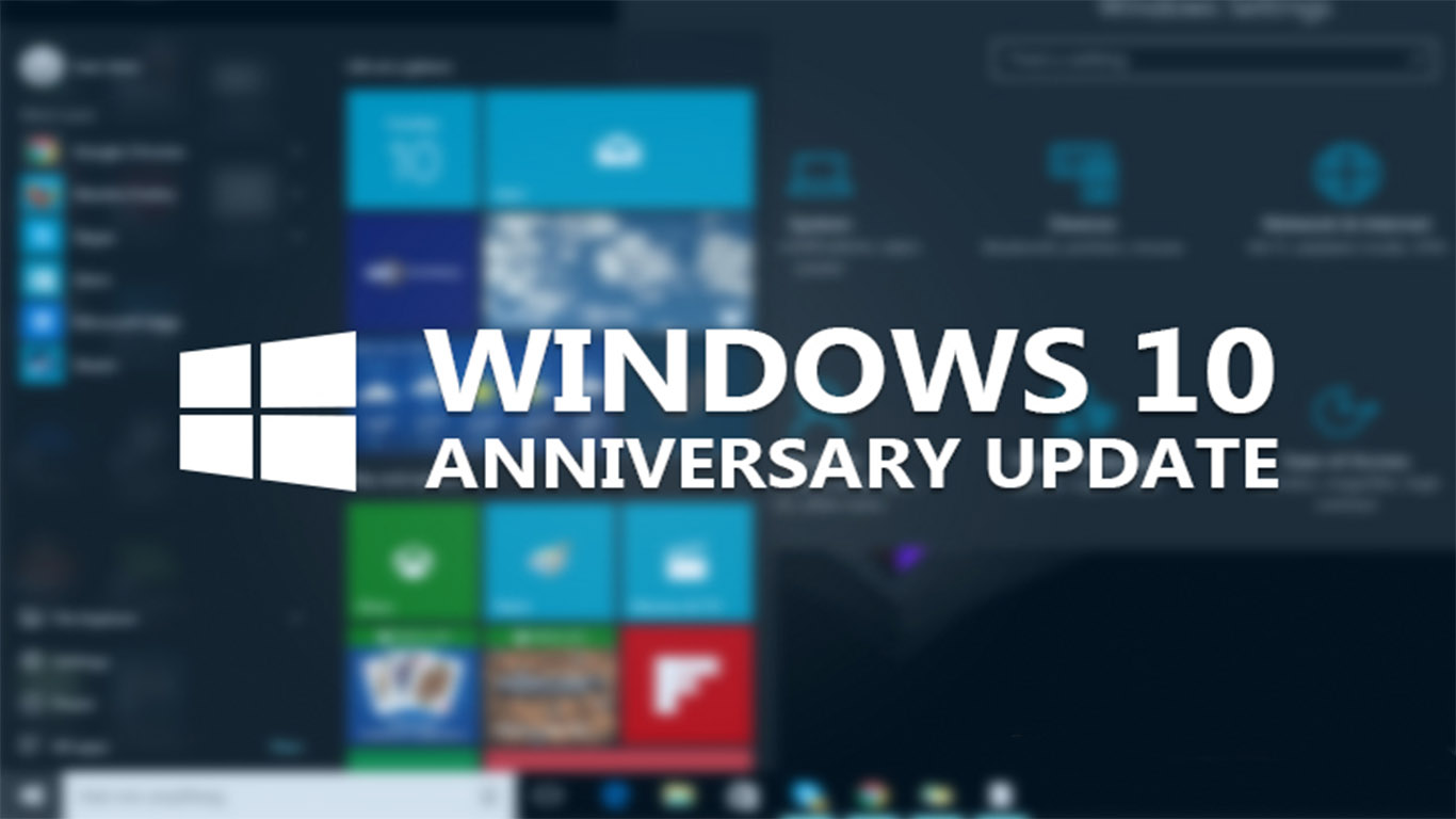 Windows 10 Anniversary Update – Proviamolo insieme