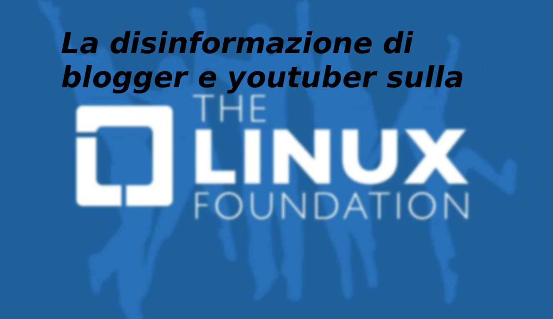 La disinformazione allo stato puro – Linux Foundation
