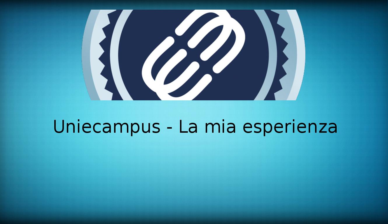 UniEcampus – La mia personale esperienza