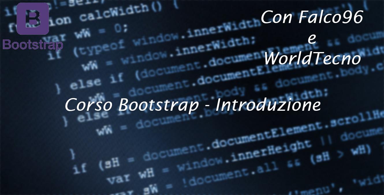 Bootstrap – Introduzione al corso