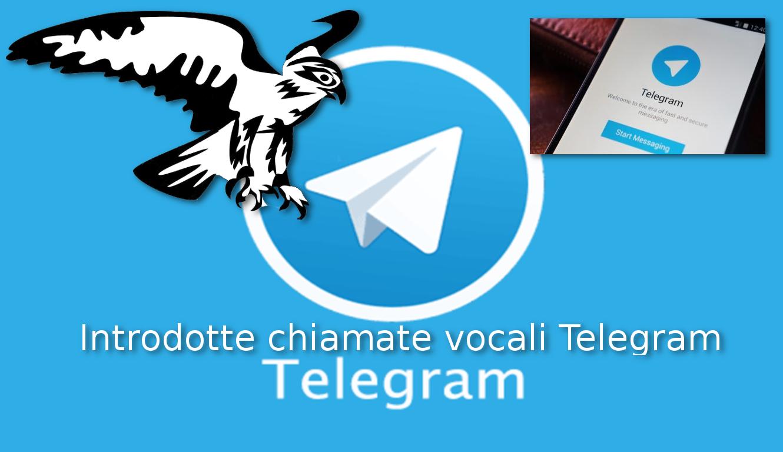 Le chiamate vocali di Telegram – Un ulteriore passo in avanti