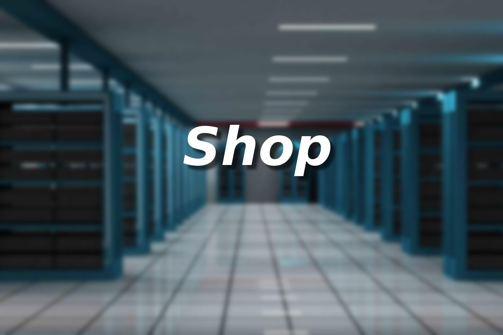 Presentazione del nuovo shop