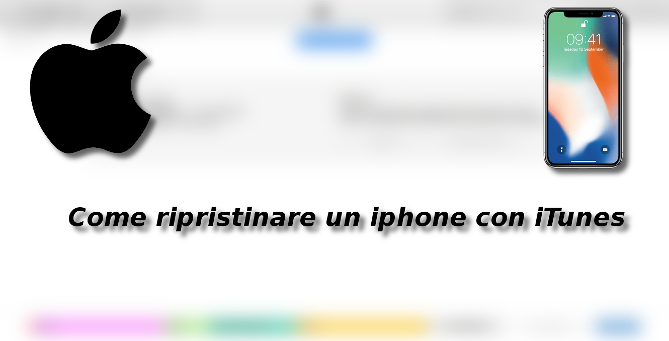 Come ripristinare un iphone con iTunes