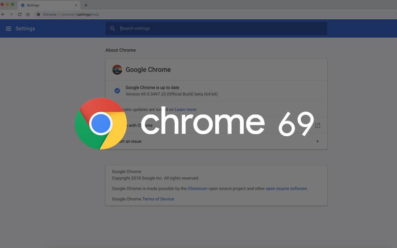 La nuova versione di Google Chrome
