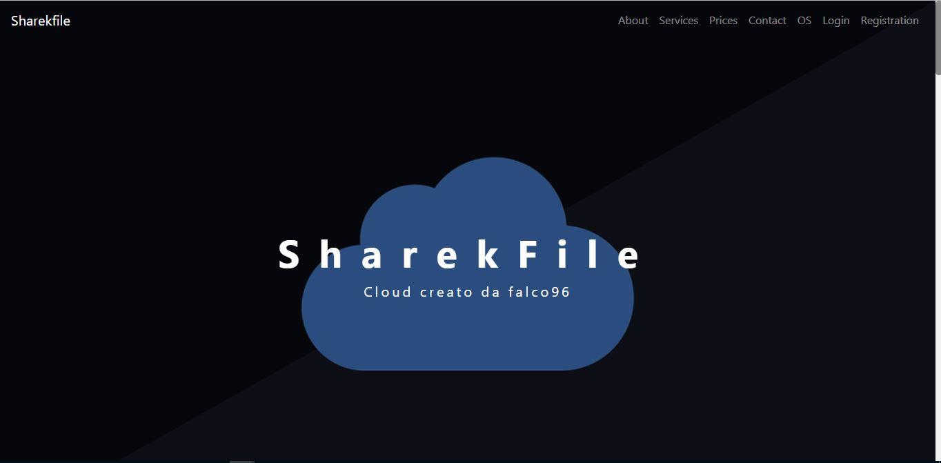 Vi presento la nuova home page di SharekFile