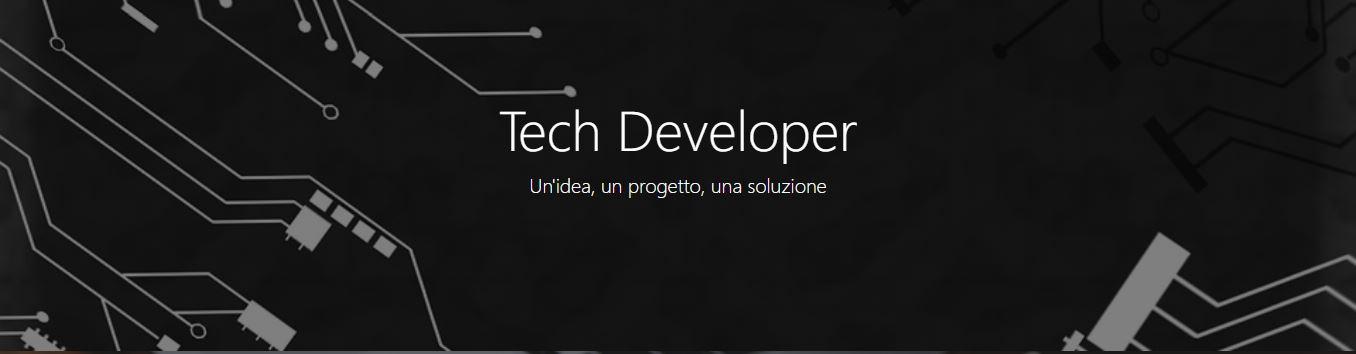 Tech Developer – Presentazione nuovo sito