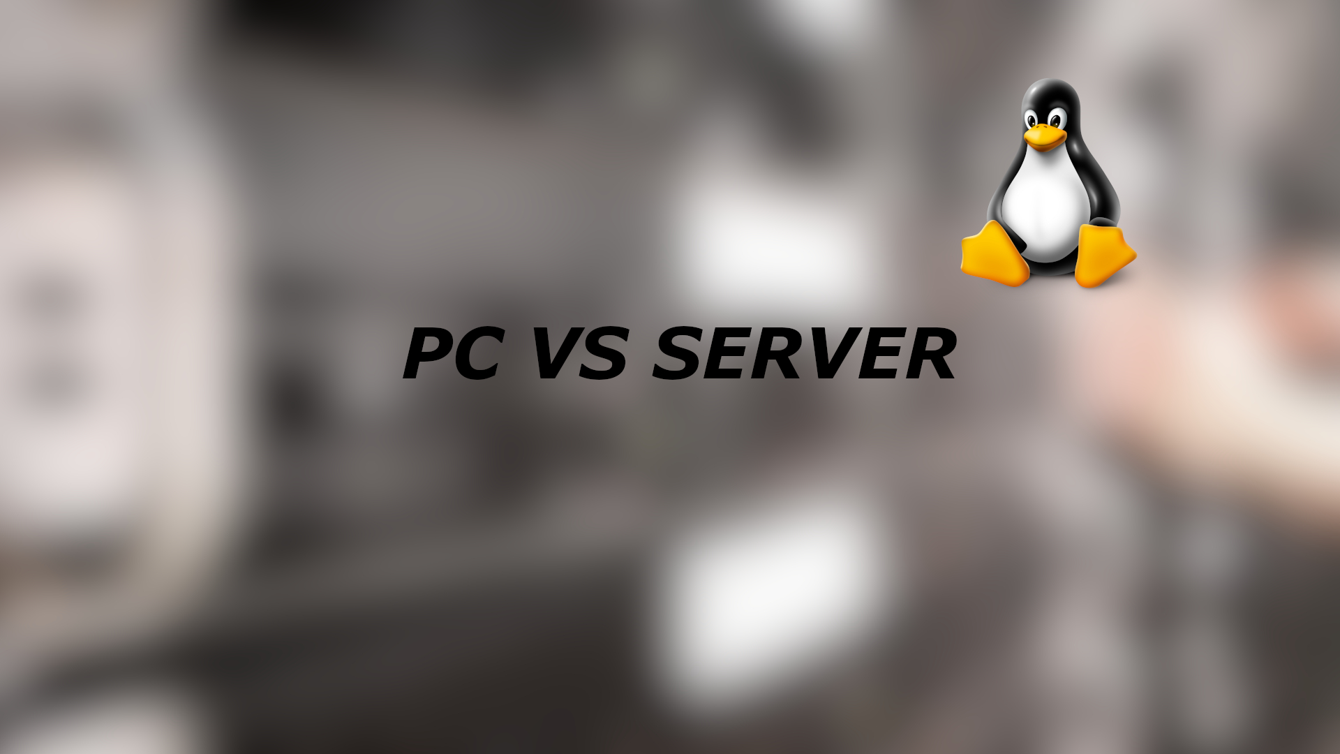 Linux Desktop vs Linux Server